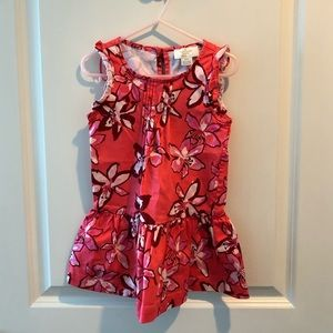 Kate Spade New York Lily Floral Girls Dress Size 3